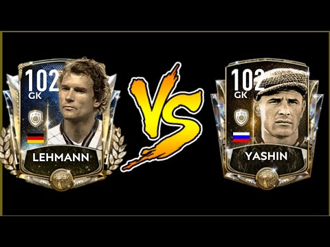 102 OVR PRIME ICON LEHMANN VS YASHIN REVIEW! AFTER THE UPDATE! FIFA MOBILE 20!