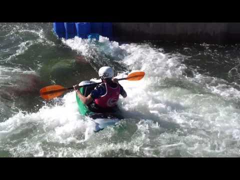 Ed Weeks  kayaking CIWW