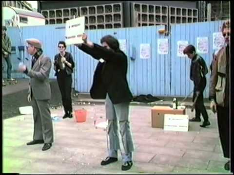 Rockgruppe Hass Auf Den Kapitalismus - Open Air Live Irritainment June 1984