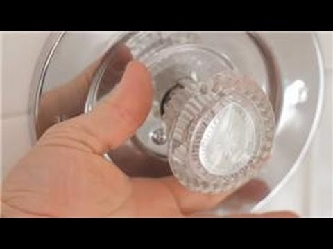 Bathroom Faucet Knob Repair bathroom repair : how to repair a push pull faucet - youtube