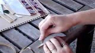 Foiling a piece of glass