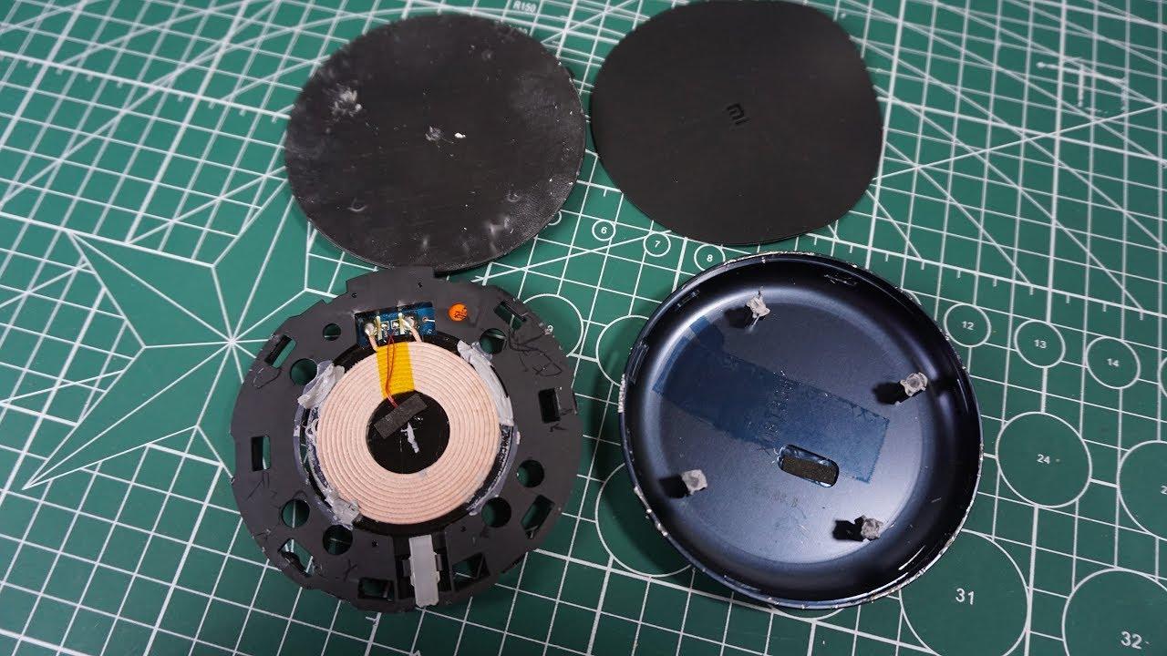 [Phần 1] Bung sạc không dây xiaomi xem cấu tạo bên trong