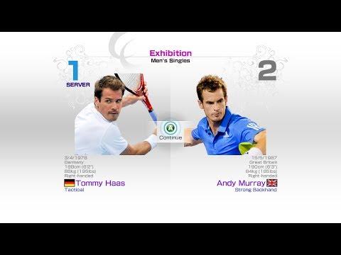virtua-tennis-4-sega-tommy-haas-vs-andy-murray-rafael-nadal-roger-federer-andy-murray-novak