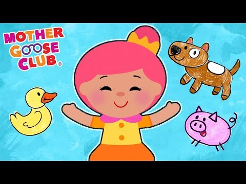 Animal Sounds Song With Bo Peep | NEW ANIMAL SONG | Mother Goose Club Kids Songs And Baby Songs