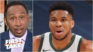 All eyes should be on Giannis - Stephen A. says The Greek Freak is facing pressure | First Take