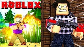 TOP 1 BATTLE ROYALE DANS ROBLOX !!