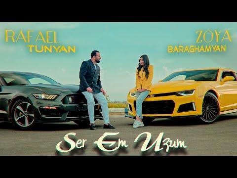 Смотреть клип Rafael Tunyan Ft. Zoya Baraghamyan - Ser Em Uzum