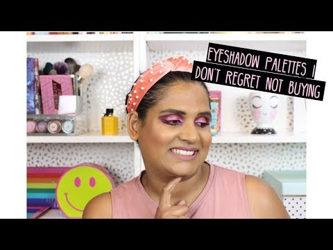 EYESHADOW PALETTES I DON'T REGRET NOT BUYING | Karen Harris Makeup thumbnail