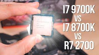 Тест i7 9700k! То чувство, когда новый i7 слабее чем старый i7... Да как так-то?!