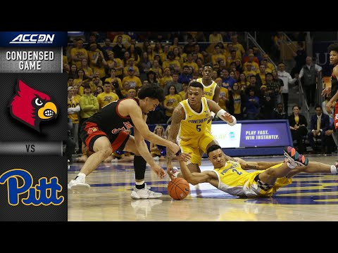 Louisville Vs. Pittsburgh Condensed Game | 2019-20 ACC Men's Basketball