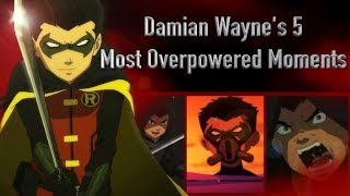 Damian Wayne's 5 Most Overpowered Moments