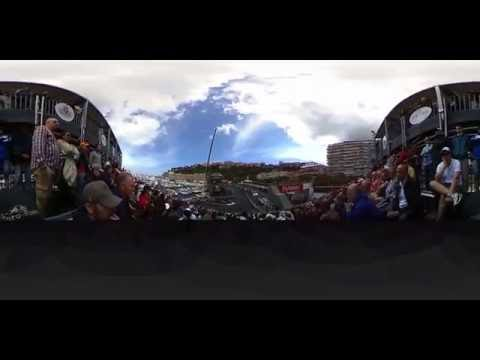 360 VR Monaco F1 Grand Prix 2016 - Tribune L, row ZE, seat 38