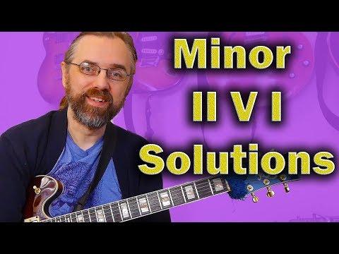 Minor II V I progression -  tips to add to your Jazz Vocabulary