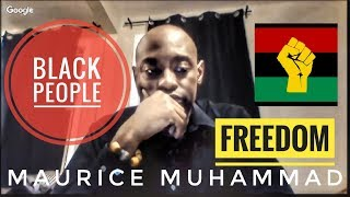 Maurice Muhammad On Information Man Show