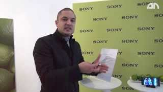 Sony Core Fitness Tracker & SmartBand SW10 - Hands-on - CES 2014 - androidnext.de