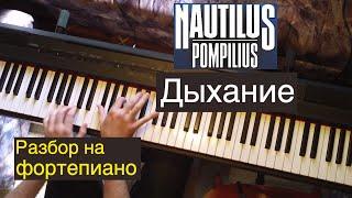 Видеоурок: Nautilus Pompilius - Дыхание / Евгений Алексеев, фортепиано