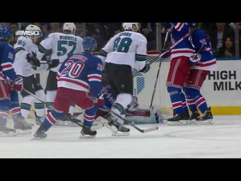 San Jose Sharks vs New York Rangers | NHL | 17-OCT-2016