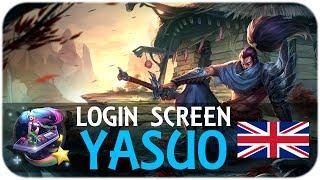 Repeat youtube video Yasuo - Login Screen [English]