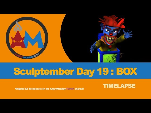 Sculptember Day 19: Box Timelapse