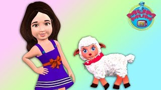 Mary Had a Little Lamb, kids songs, children songs , Kids Music, song for kids | Mum Mum TV