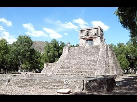 Giant Pyramids of the Ancient Aztec Empire