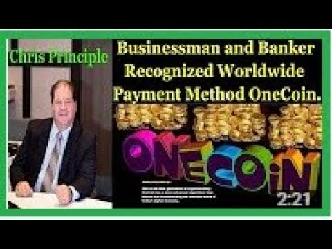 Chris Principle is a Businessman and Banker Recognized Worldwide Payment Method OneCoin.