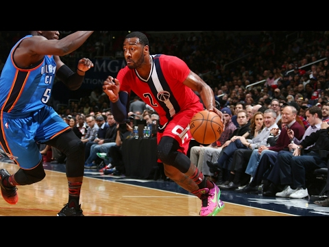 John Wall Displays His Assist Arsenal vs OKC Thunder | 02.13.17