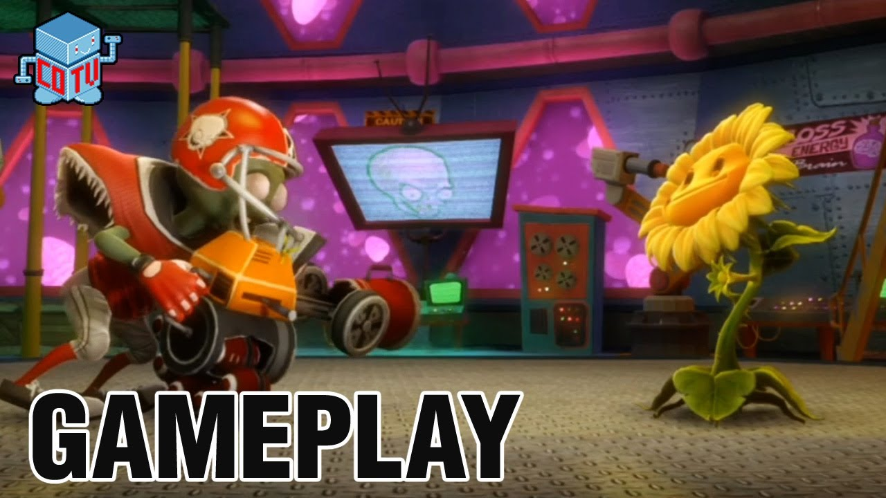 Plants Vs Zombies Garden Warfare All Star Gameplay Youtube