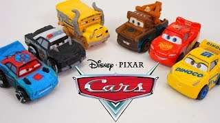 Disney Cars Minis Thunder Hollow Racers Challenge Radiator Springs on New Race Track