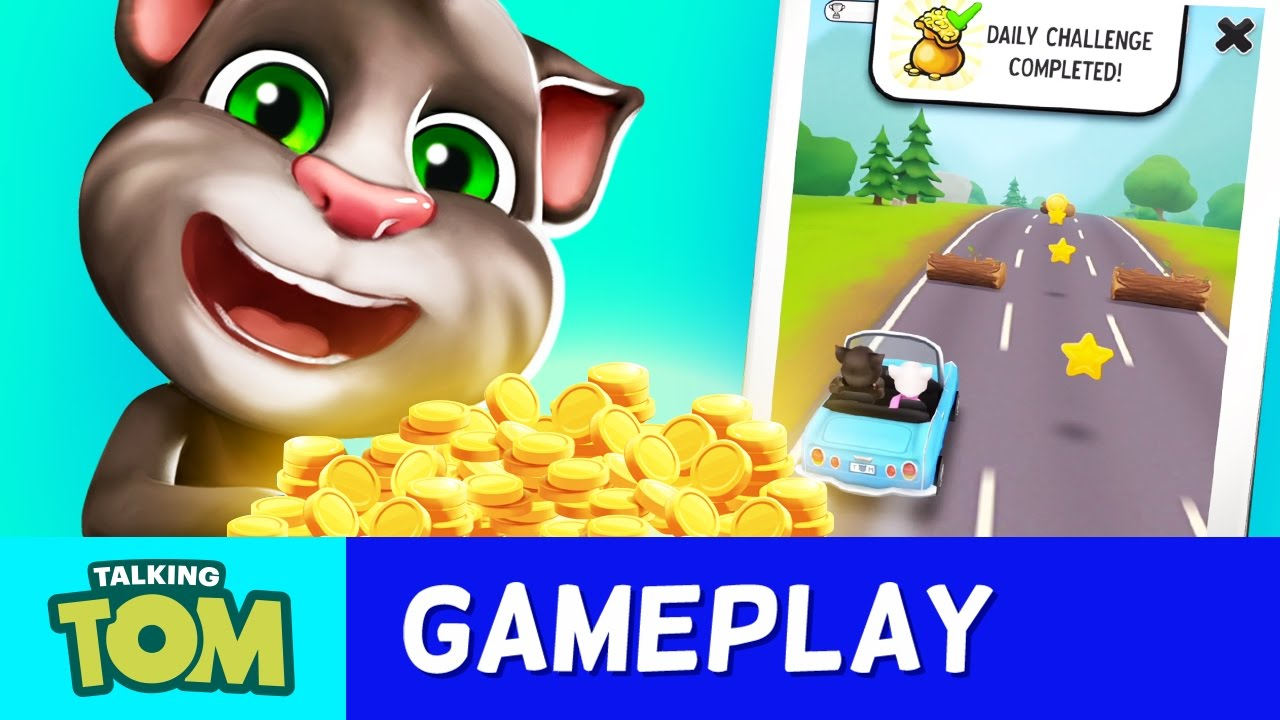 My Talking Tom - Top Tips to Get Coins and Rewards (Gameplay)