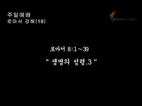 2019.2.3 주일설교(로마서 강해19) 장현철 목사