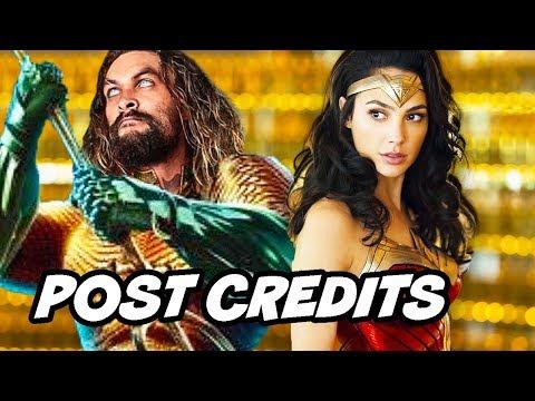 Aquaman Post Credit Scene - Justice League Easter Egg Scene Breakdown