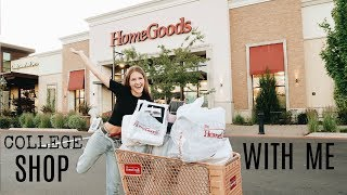 COME DORM SHOPPING WITH ME AT HOMEGOODS!