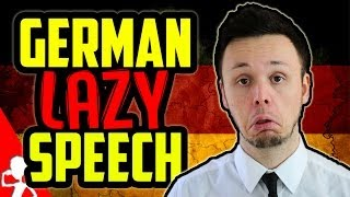 German Lazy Speech | Learn German for Beginners | Lesson 16