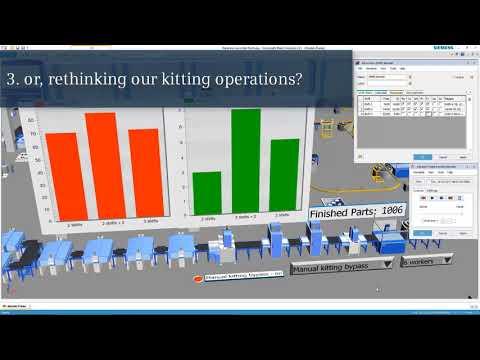Creating a Digital Twin: Tecnomatix Plant Simulation