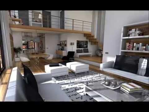 Doble altura doovi for Casa moderna minimalista interior 6m x 12 50m