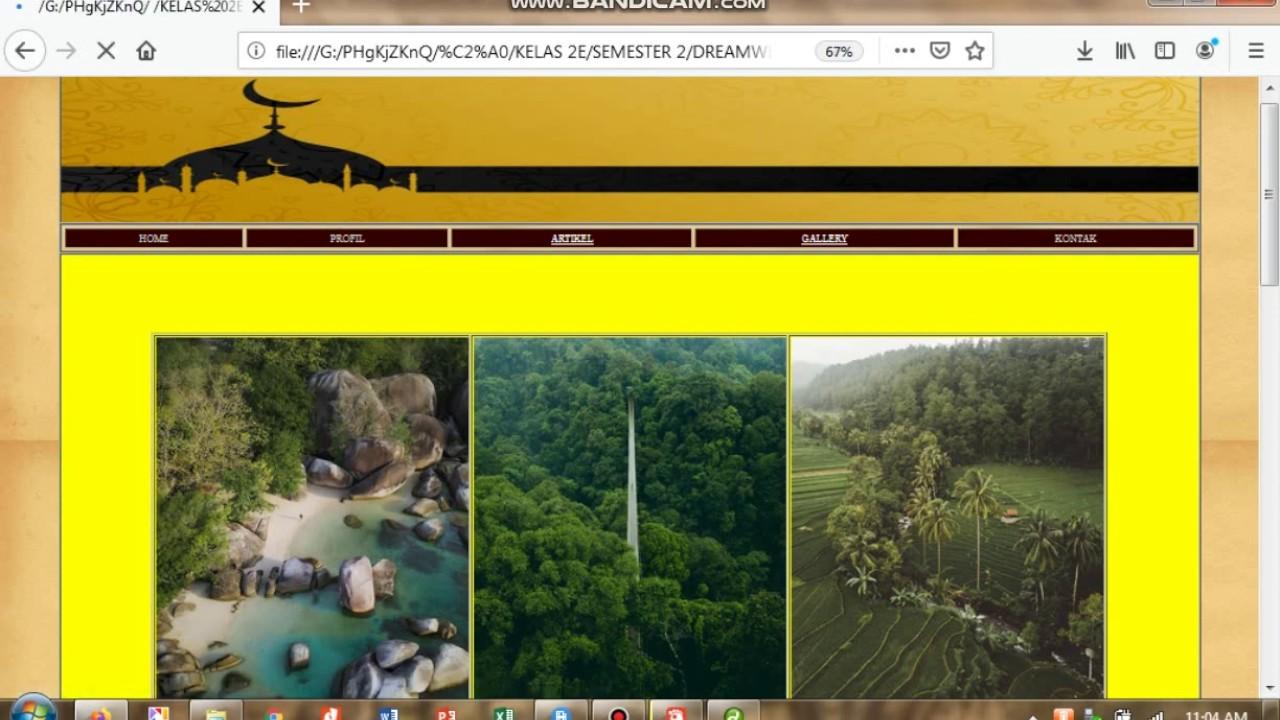 Cara Membuat Web Desain dengan Macromedia Dreamweaver 8