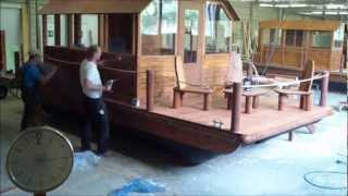 3 Ninjas bauen Floß in 2 Minuten  [ Boot- / Hausboot bauen im Zeitraffer (x 250)], Tom Sawyer Boats