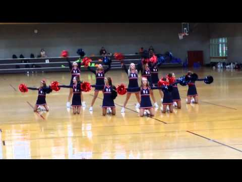 Winston Academy JV Cheer Squad Home Pom 2015