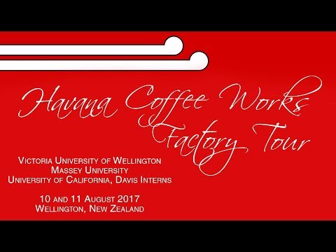 ISA Wellington: Havana Coffee Works Factory Tour