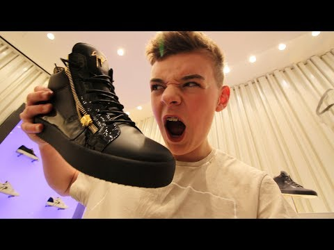 BUYING £530 SHOES IN LONDON! *Giuseppe Zanotti*