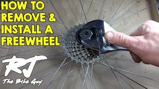 How To Change A Freewheel On A Bike