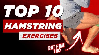 The Top 10 Hamstrings Exercises | BJ Gaddour Legs Workout Videos