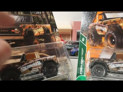 Matchbox &#; Ford Bronco x  Skyjacker comparison