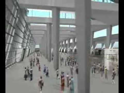 Terminal 3 New Delhi International Airport - A Vision for 2010 Commonwealth Games