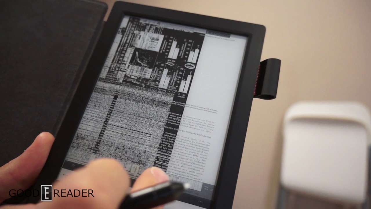 e-reader with pdf capability