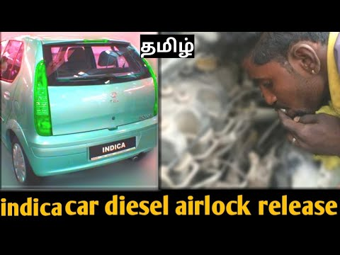 How to bleed a diesel engine tata indica 1 4