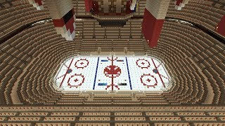 Minecraft - Ice Hockey Stadium