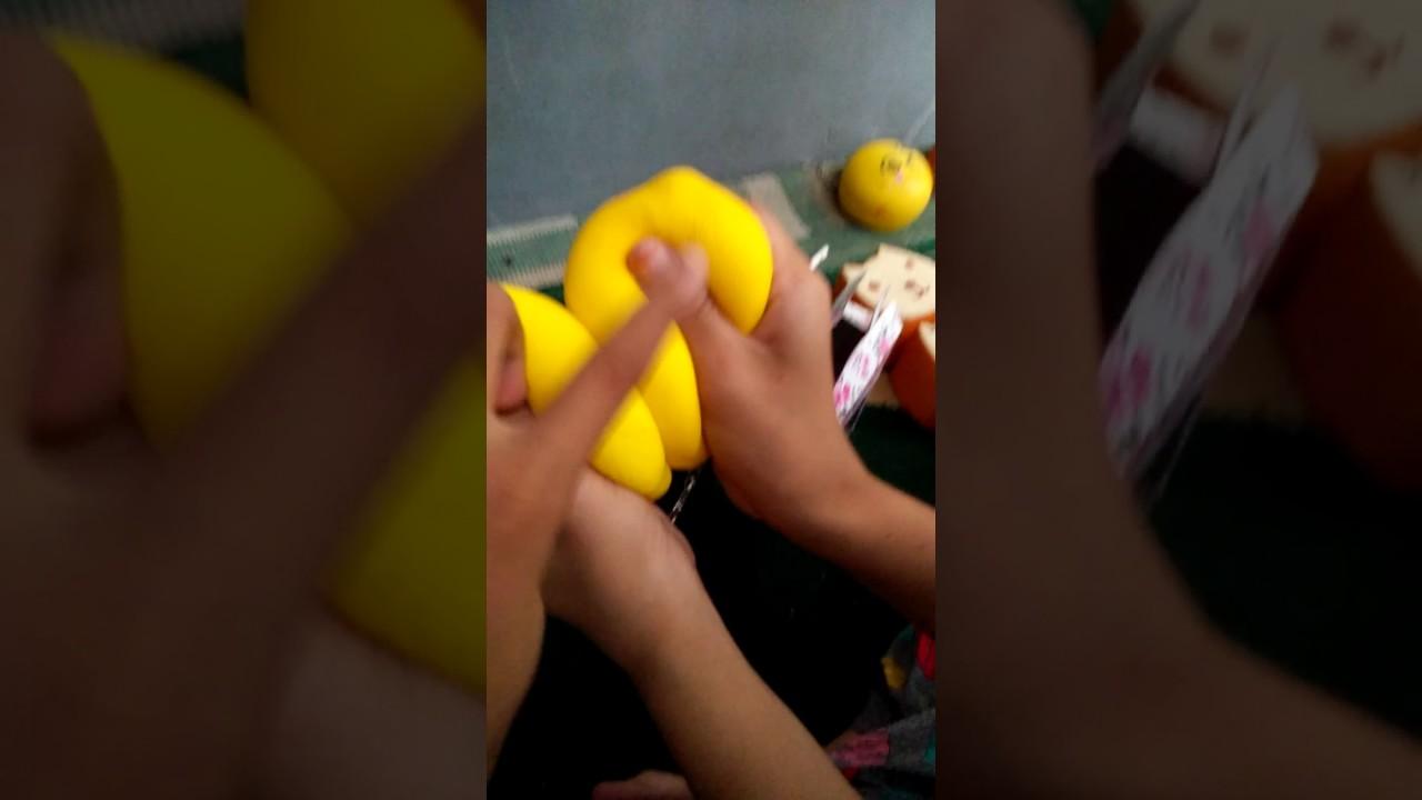 Belanja squishy di rumah Aulia sahrani - YouTube