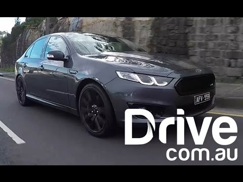 2016 Ford Falcon Xr8 Sprint Road Test Drive Youtube